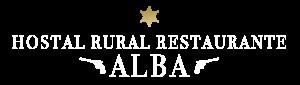 Logo Hostal Rural Alba
