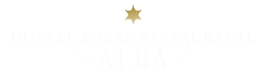 logotipo hostal rural alba